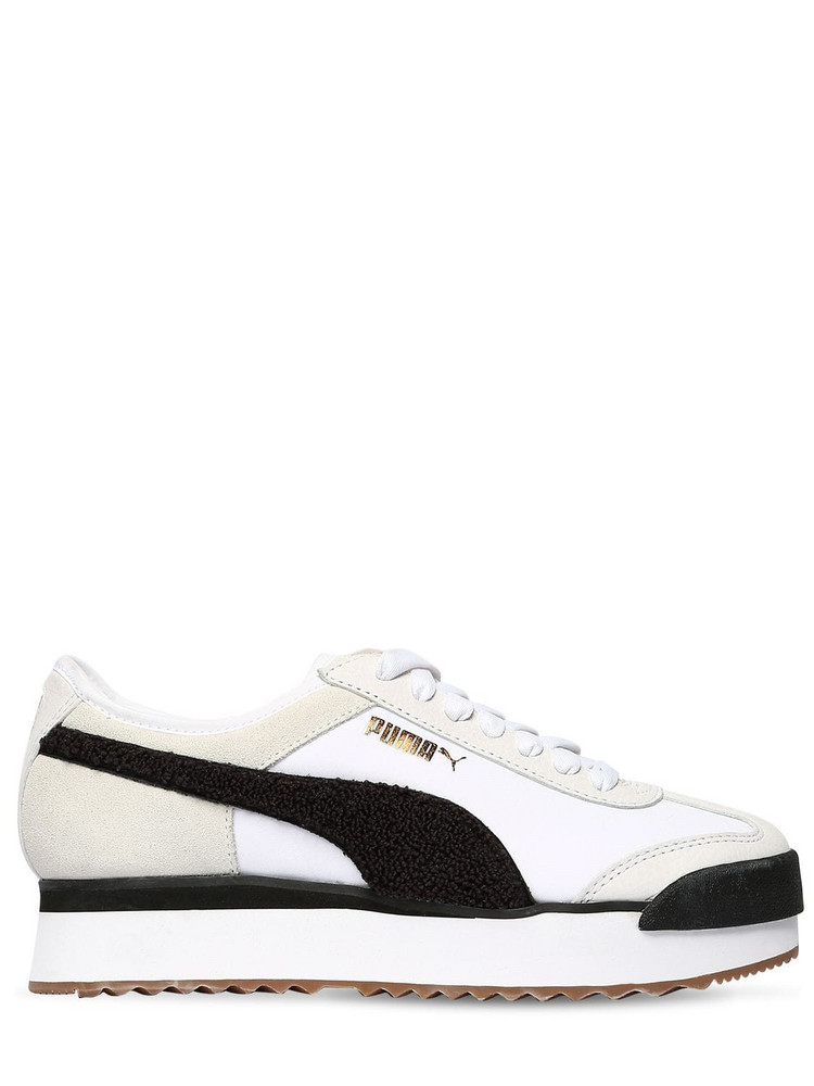 PUMA SELECT Roma Amor Heritage Sneakers in black / white