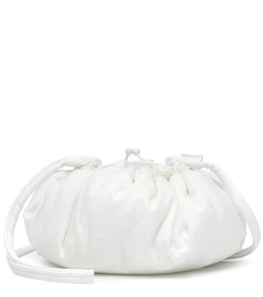 MM6 Maison Margiela Padded clutch in white