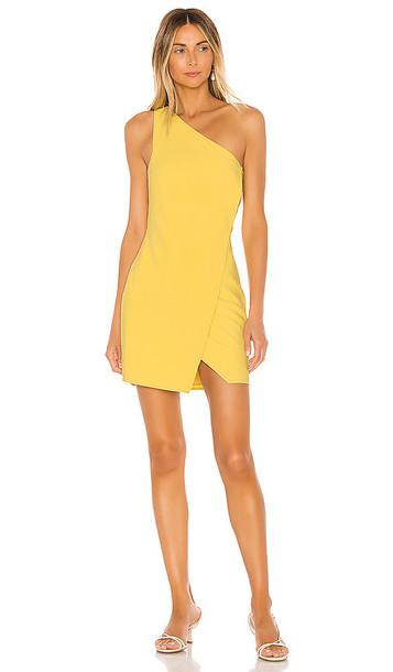 NBD x Naven Tessie Dress in Yellow