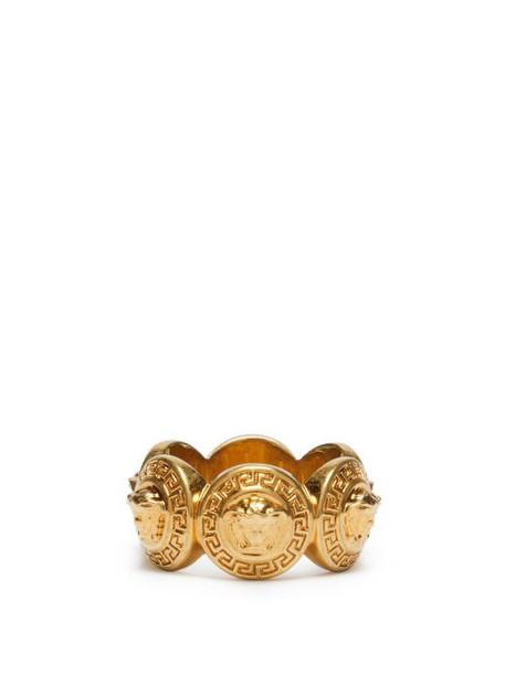 Versace - Medusa Head Ring - Womens - Gold