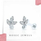jewels,earrings,stud,jewelry,diamonds,minimalist,stacking,women,fashion