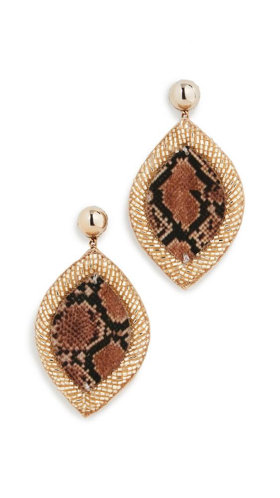 Deepa Gurnani Deepa By Deepa Gurnani Roxie Earrings in gold