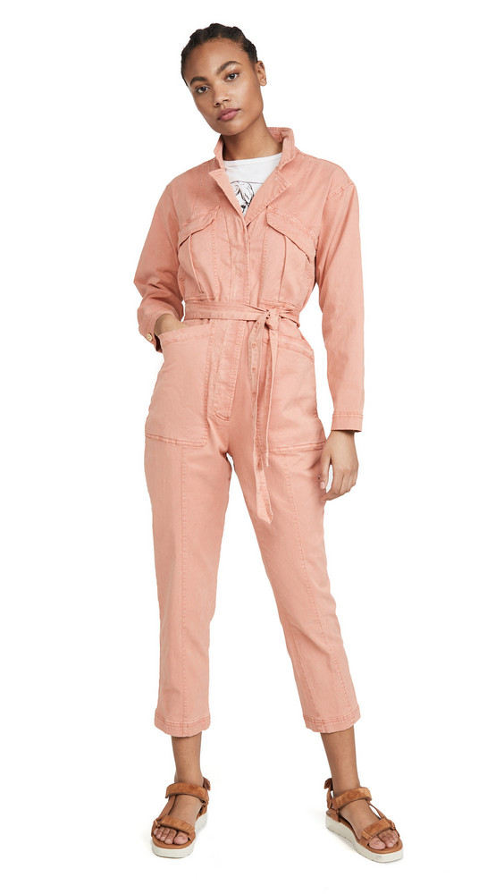 Alex Mill Expedition Jumpsuit in pink