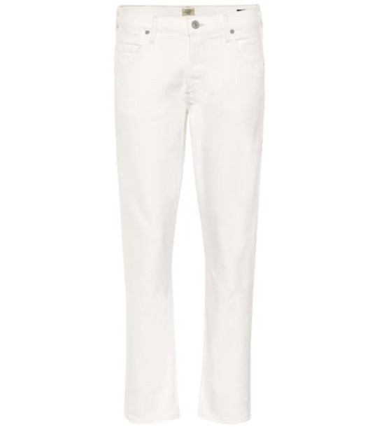 Citizens of Humanity Emerson low-rise boyfriend jeans in white