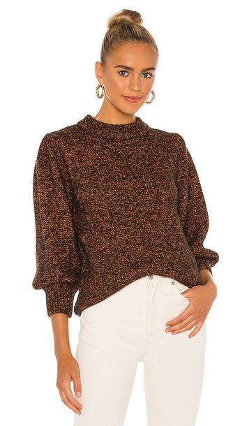 ANINE BING Rosalind Sweater in Brown