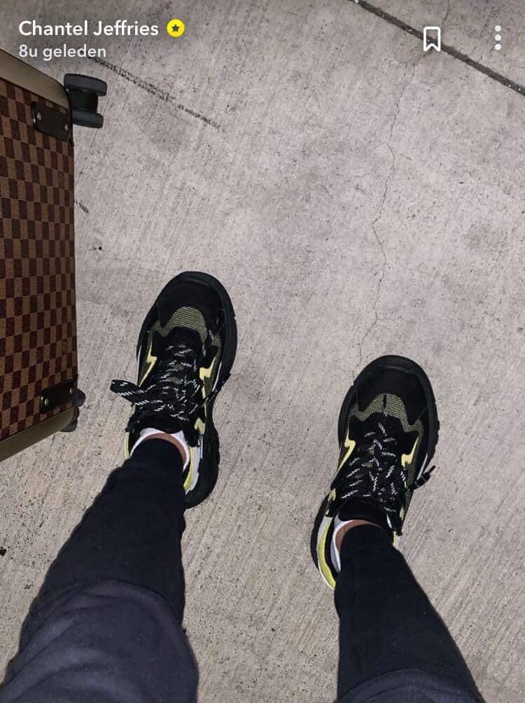 shoes black yellow neon fashion trendy