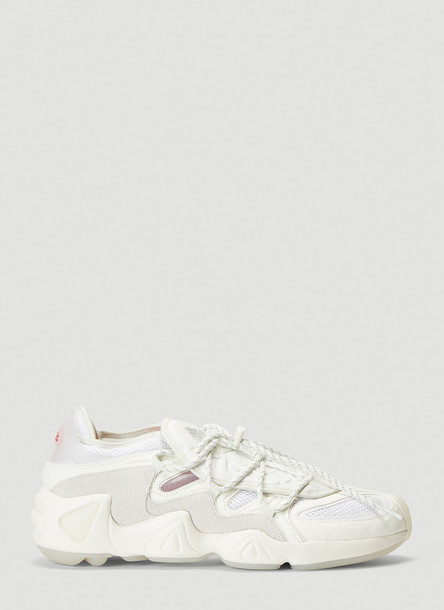 Adidas By 032C Salvation Contrast-Panel Sneakers in White size UK - 08