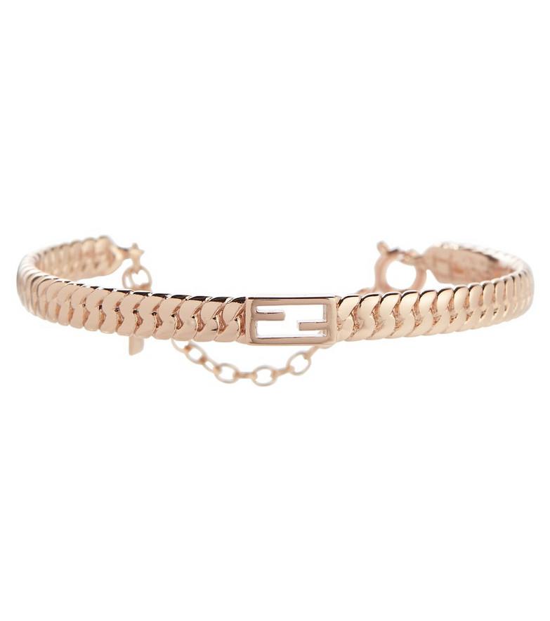 Fendi Baguette bracelet in pink