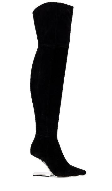 Cult Gaia Yasmina Boot in Black
