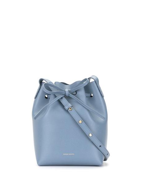 Mansur Gavriel mini bucket bag in blue