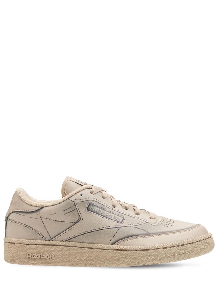 REEBOK CLASSICS Project 0 Club C Trompe L'oeil Sneakers in natural