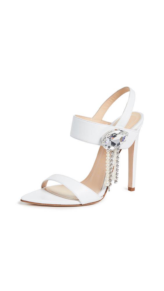 Chloe Gosselin Tori 110 Sandals in white
