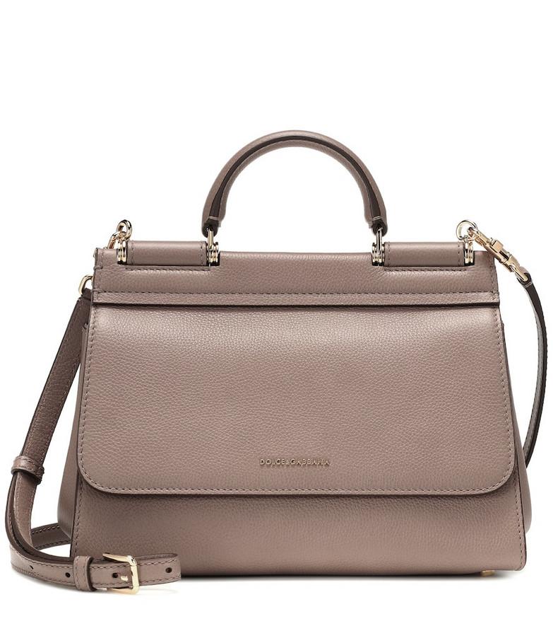 Dolce & Gabbana Sicily Soft Medium shoulder bag in beige