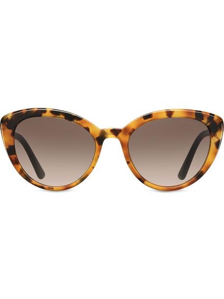 Prada Eyewear Ultravox sunglasses in brown