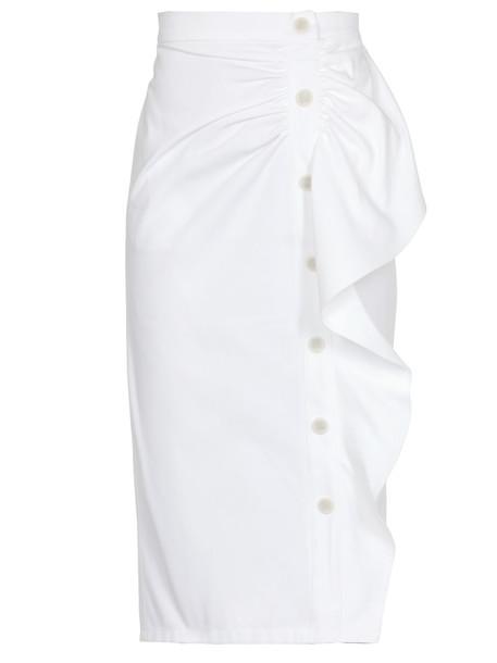 Max Mara Edmond Skirt in bianco