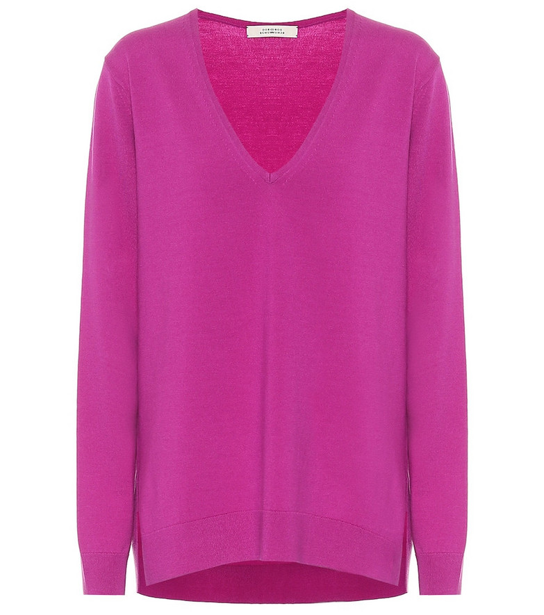 Dorothee Schumacher Bodycon Ease wool-blend sweater in pink