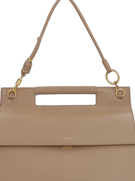 Givenchy Whip Leather Handbag in beige