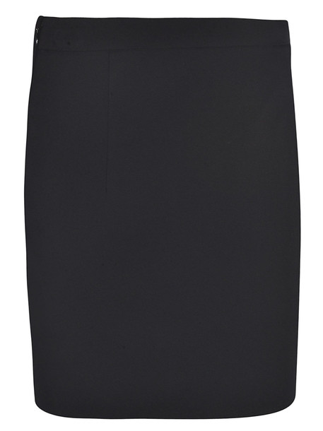 Dsquared2 Lace Hem Mini Skirt in black
