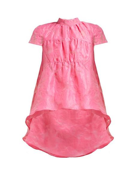 Erdem - Arlesa Dip Hem Fil Coupé Top - Womens - Pink