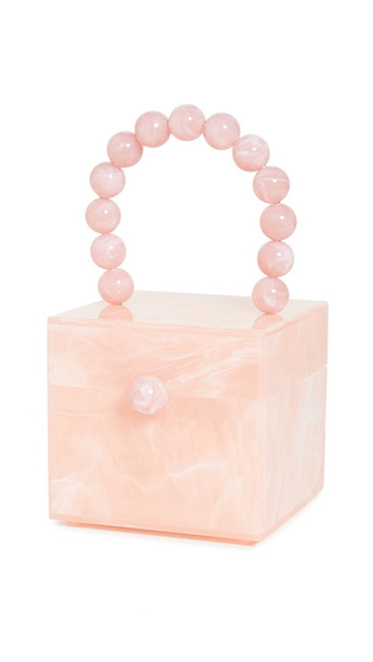 Cult Gaia Eos Box Bag in pink