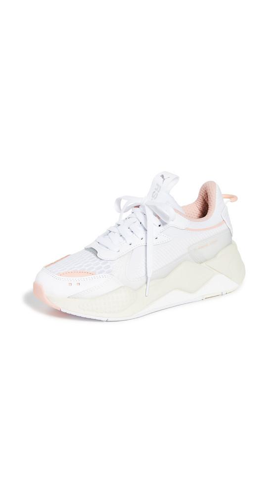 PUMA RS-X Tech Sneakers in peach / white