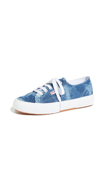 Superga 2750 Tie Dye Denim Sneakers
