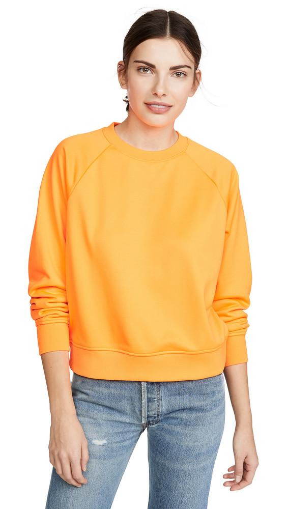 Hanes x Karla The Crew Sweatshirt-XK049 in orange