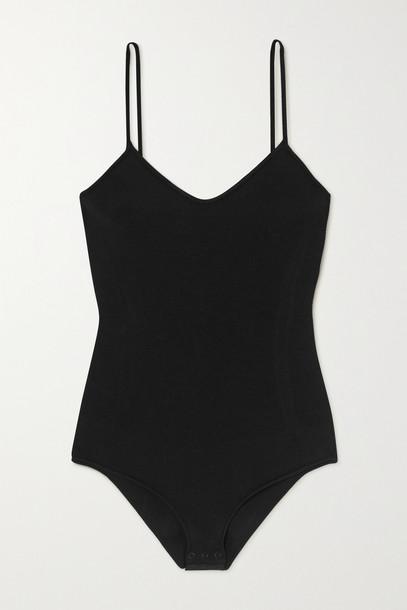 AZ FACTORY - Mybody Stretch-jersey Bodysuit - Black