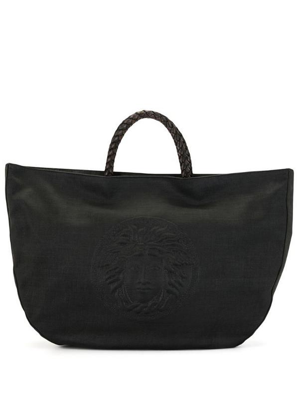 Versace Pre-Owned Medusa motif tote in black