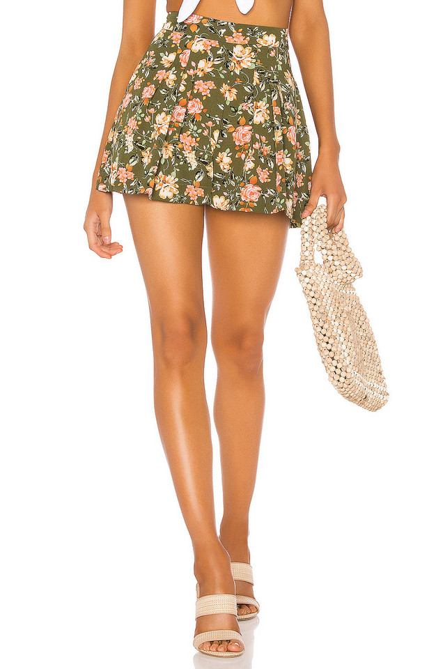 Endless Summer Zoey Short in green
