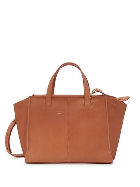 Mansur Gavriel Multitude mini zip tote in brown