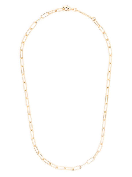 Federica Tosi cable link necklace in gold
