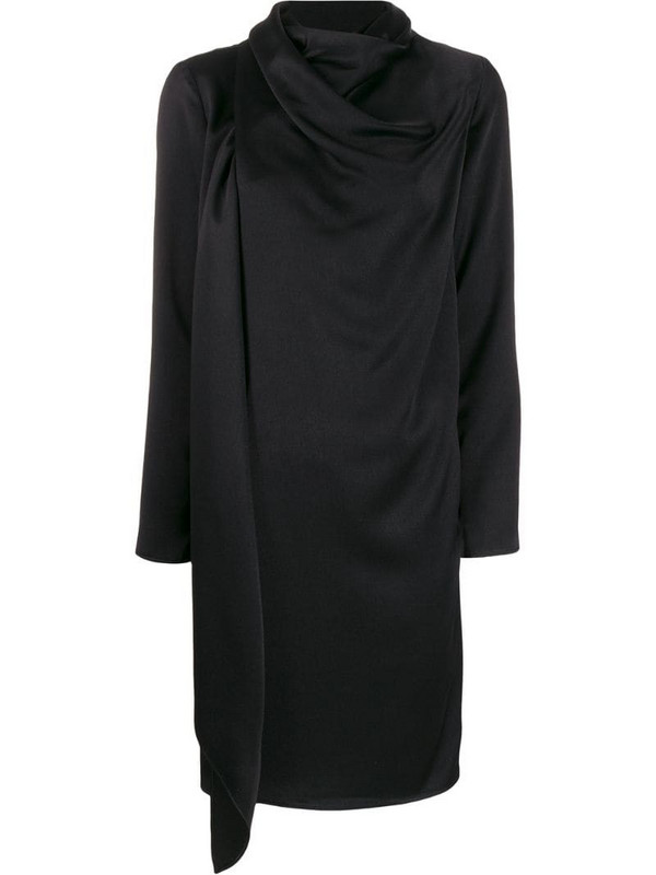 Gianluca Capannolo draped dress in black