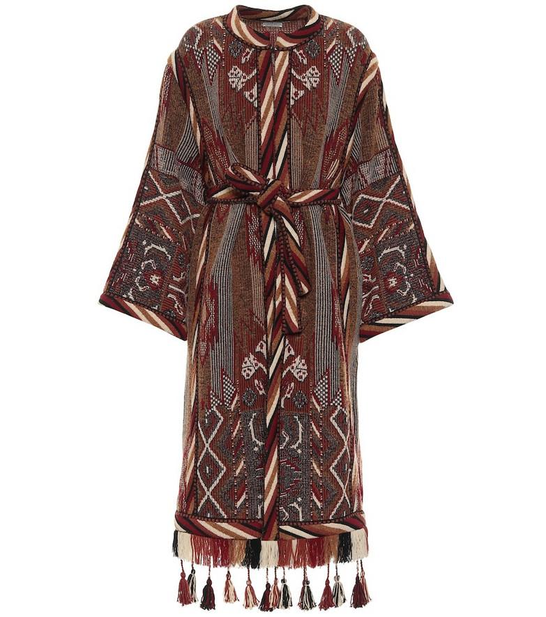 Etro Exclusive to Mytheresa – Wool-blend jacquard coat