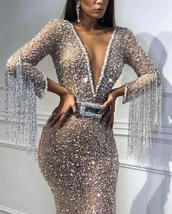 dress,silver,crystals short prom dress,crystal,sequins