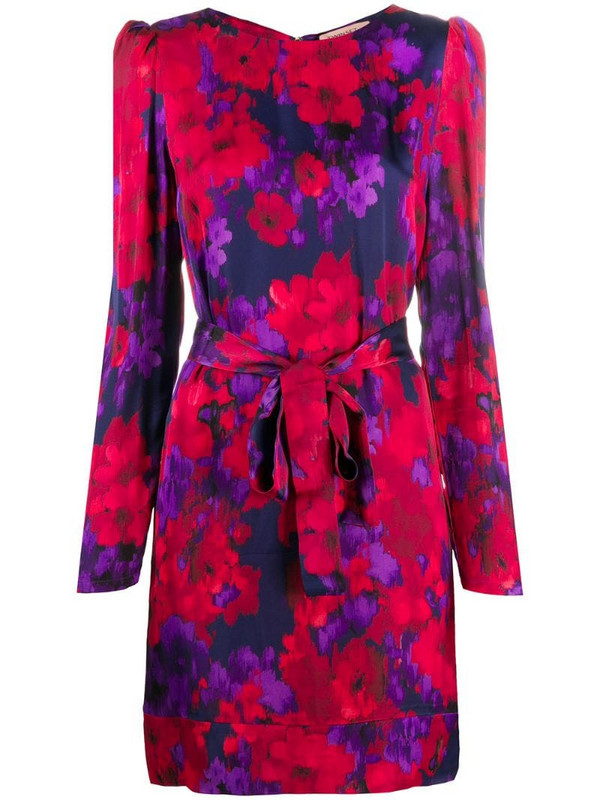 Twin-Set floral print dress in red