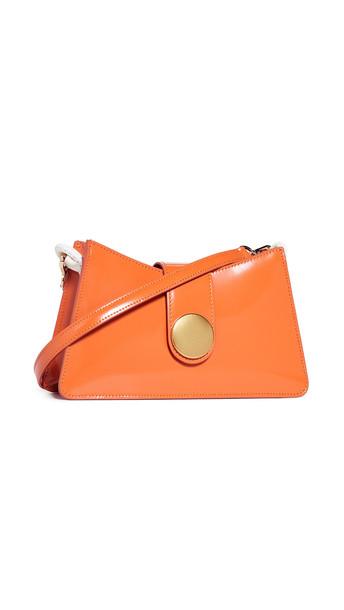 Elleme Baguette Bag in orange / white