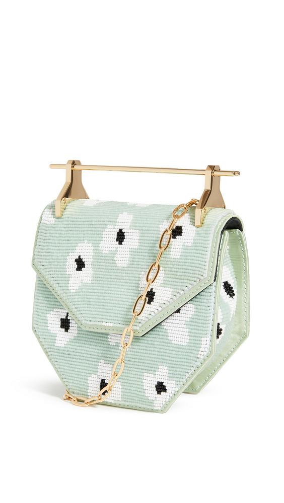 M2MALLETIER Mini Amor Fati Bag in mint