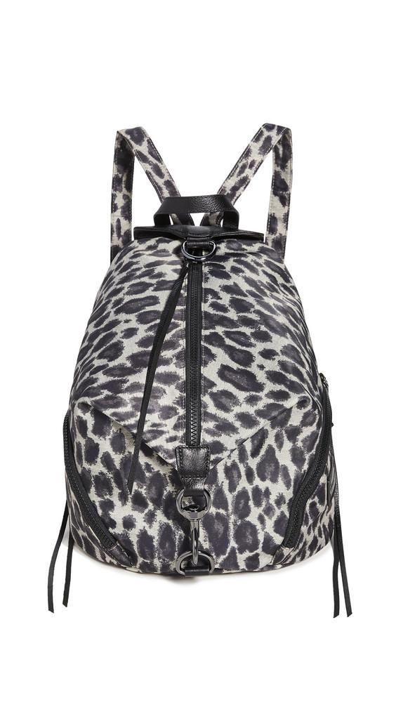 Rebecca Minkoff Julian Nylon Backpack in leopard