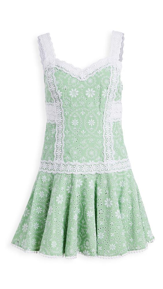 Charo Ruiz Biba Dress in green