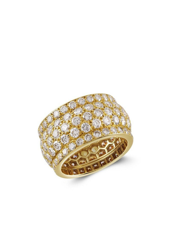 Cartier 1961 18kt yellow gold Present Day diamond ring