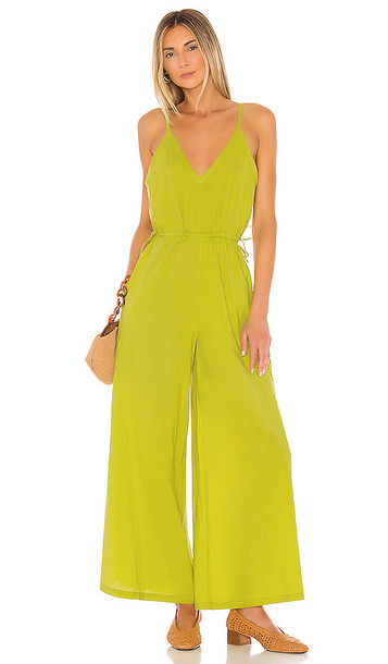 Cleobella Melody Jumpsuit in Green