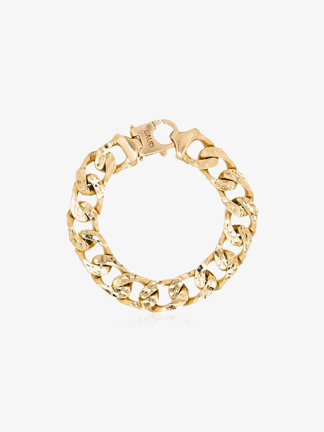 Laud 18K yellow gold link chain bracelet