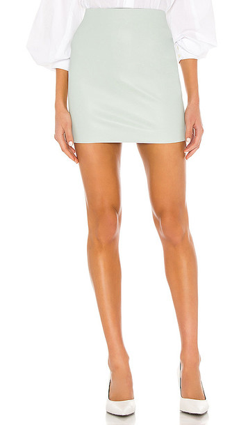 SPRWMN X REVOLVE Mini Skirt in Green