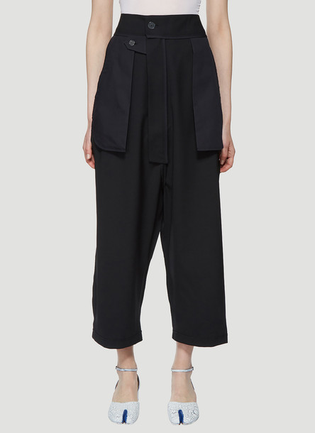 Vaquera Inside Out Pants in Black size 26
