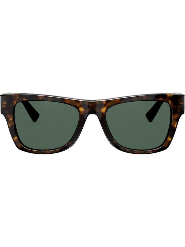 Valentino Eyewear VLOGO wayfarer sunglasses in brown