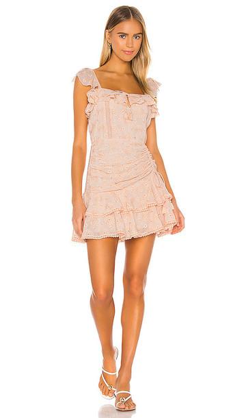 SAYLOR Julianna Dress in Peach