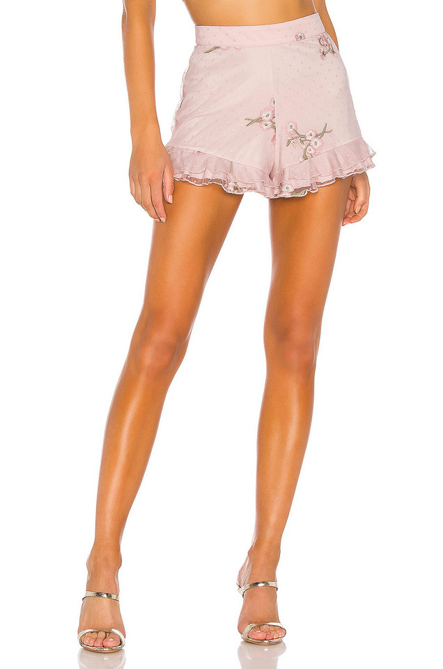 MAJORELLE Whitney Shorts in pink