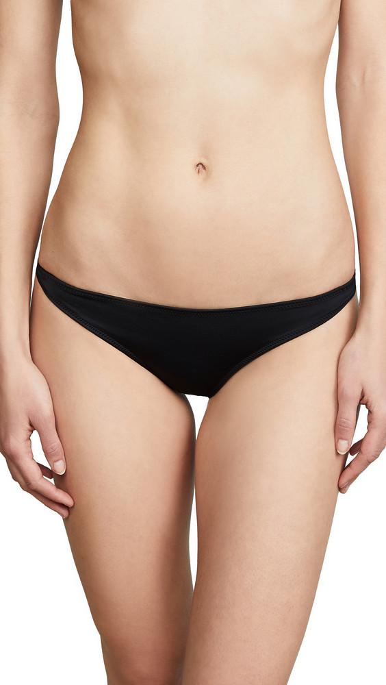 Solid & Striped Eva Bikini Bottoms in black