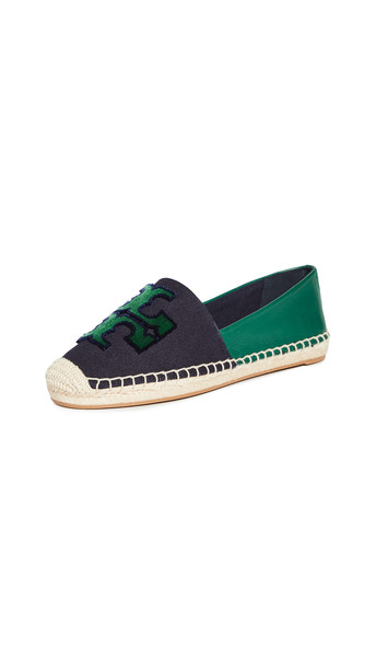 Tory Burch Ines Fil Coupe Espadrilles in navy